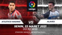 Indosport - Atletico Madrid vs Alaves.
