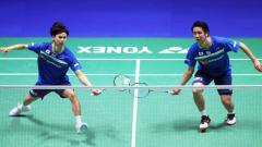 Indosport - Federasi Bulutangkis Dunia (BWF) tidak sungkan untuk menyebut pasangan Jepang, Hiroyuki Endo/Yuta Watanabe sebagai penantang garis depan medali emas Olimpiade.