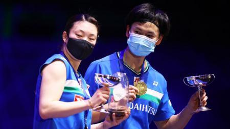Media Malaysia menyebut tim bulutangkis Jepang tetap akan menjadi favorit di Olimpiade Tokyo 2020 dan memilih mengabaikan Indonesia serta negara saingan lainnya - INDOSPORT
