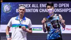 Indosport - Viktor Axelsen berhasil revans dari Lee Zii Jia di perempat final Denmark Open 2021