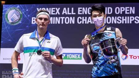 Juara All England 2021 asal Malaysia yakni Lee Zii Jia angkat suara soal perubahan sistem skor yang diusung oleh Federasi Bulutangkis Dunia (BWF). - INDOSPORT