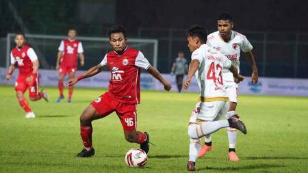 Laga grup B Piala Menpora 2021 anatara Persija Jakarta vs PSM Makassar di Stadion Kanjuruhan Malang, Senin (21/03/21). - INDOSPORT