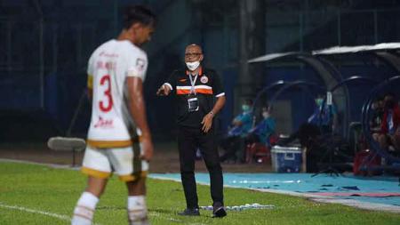 Pelatih Persija Jakarta, Sudirman. - INDOSPORT
