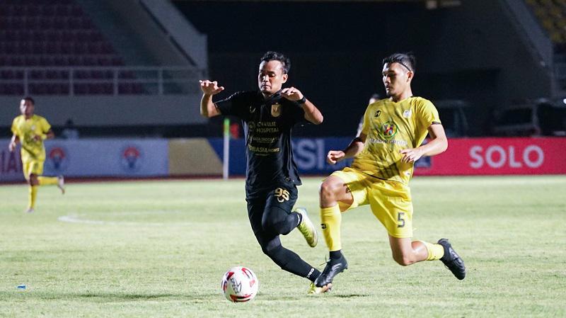 Pertandingan PSIS menghadapi Barito Putera yang berkesudahan dengan skor 3-3. Copyright: Media PSIS