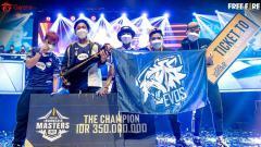 Indosport - EVOS Esports menjadi back to back champions di ajang Free Fire Indonesia Masters (FFIM) 2021 Spring, Minggu (21/3/21).