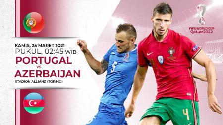 Pertandingan Portugal vs Azerbaijan (Kualifikasi PD Eropa). - INDOSPORT