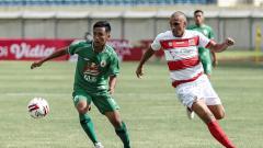 Indosport - Madura United vs PSS Sleman di Piala Menpora, Selasa (23/03/21).