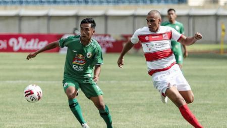 Madura United vs PSS Sleman di Piala Menpora, Selasa (23/03/21). - INDOSPORT