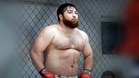 Alan Khadziev petarung MMA asal Rusia. - INDOSPORT