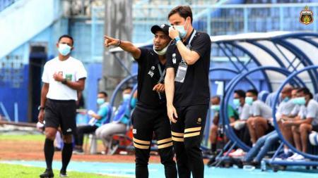 Pelatih Bhayangkara FC, Paul Munster, di Piala Menpora 2021. - INDOSPORT