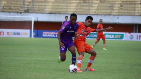 Laga grup D Piala Menpora 2021 antara Persiraja vs Persita di Stadion Maguwoharjo, Sleman, Rabu (24/03/21). - INDOSPORT