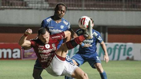 Laga Persib Bandung vs Bali United di Piala Menpora 2021. - INDOSPORT
