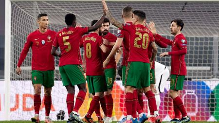 Link Live Streaming Kualifikasi Piala Dunia 2022 antara Luksemburg vs Portugal. - INDOSPORT