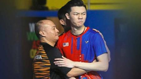 Pelatih asal Indonesia, Hendrawan, membeberkan keuntungan yang dimiliki oleh anak asuhnya, Lee Zii Jia, menjelang keikutsertaannya di Olimpiade Tokyo 2020. - INDOSPORT