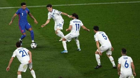 Memukau di Timnas Inggris, Lingard Disebut Mirip Messi dan Maradona. - INDOSPORT