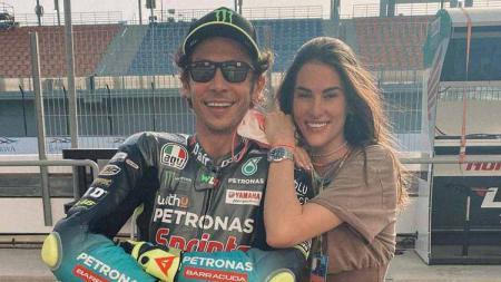 Francesca Sofia Novello, pacar Valentino Rossi. - INDOSPORT