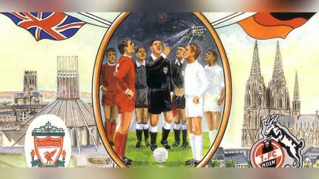 Ilustrasi Liverpool vs FC Koln di European Cup (Liga Champions) 1965. - INDOSPORT