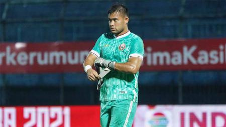 Kesuksesan Persija Jakarta menjuarai Piala Menpora membuat sang kapten, Andritany Andriyasa, menilai para pemain Persija kini sudah jadi laki-laki sejati. - INDOSPORT