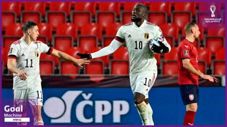 Berikut hasil pertandingan kualifikasi Piala Dunia 2022 antara Republik Ceko vs Belgia, Minggu (28/03/21). Romelu Lukaku selamatkan Belgia dari kekalahan. - INDOSPORT