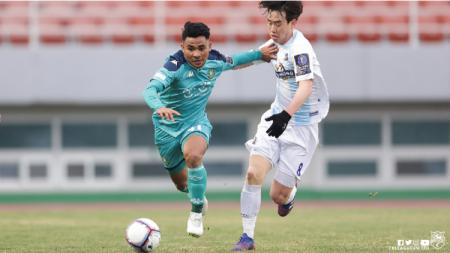 Link Live Streaming K-League 2: Bucheon vs Ansan Greeners, Asnawi Main Jadi Starter. - INDOSPORT