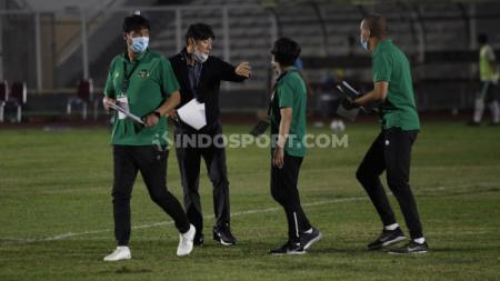 Pelatih timnas Indonesia, Shin Tae-yong - INDOSPORT