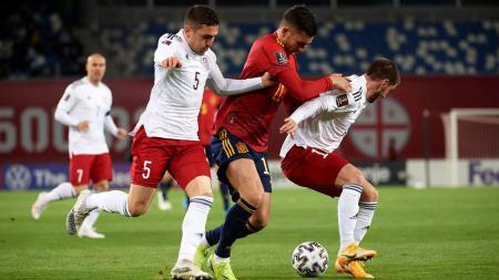Ferran Torres menjelma menjadi bomber baru timnas Spanyol. Hal ini tidak lepas dari peran manajernya di Manchester City, Pep Guardiola. - INDOSPORT