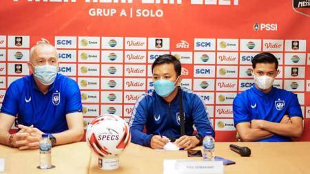 PSIS Semarang saat ini sudah melakoni tiga pertandingan uji coba dalam masa pre season jelang menghadapi kompetisi Liga 1 2021. - INDOSPORT