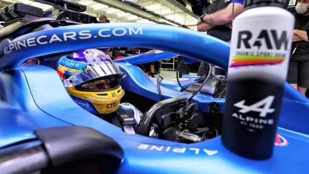Fernando Alonso, pembalap Alpine F1 Team. - INDOSPORT