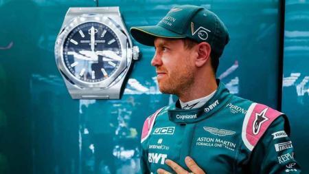 Sebastian Vettel, pembalap Aston Martin. - INDOSPORT
