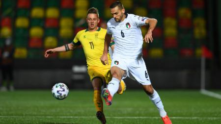 Pertandingan Kualifikasi Piala Dunia 2022: Lithuania vs Italia - INDOSPORT