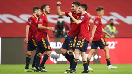 Pertandingan Kualifikasi Piala Dunia 2022: Spanyol vs Kosovo - INDOSPORT