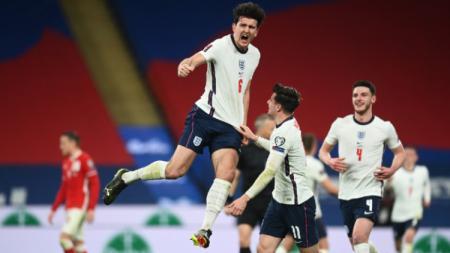 Inggris meraih kemenangan dramatis atas Polandia di Kualifikasi Piala Dunia 2022. Berikut 4 rekor mencengangkan yang tercipta pasca hasil penting tersebut. - INDOSPORT