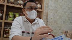 Indosport - Manajer Muba Babel United, Achmad Haris.