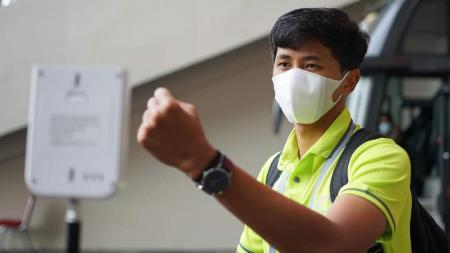 Pemain Barito Putra, Muhammad Firly. - INDOSPORT
