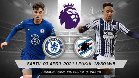 Pertandingan Chelsea vs West Bromwich Albion (Liga Inggris). - INDOSPORT