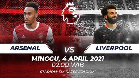 Link Live Streaming Pertandingan Liga Inggris antara Arsenal vs Liverpool. - INDOSPORT