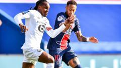 Indosport - Pemain PSG, Neymar Saat Menghadapi Lille di lanjutan Liga Prancis
