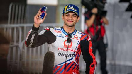Pembalap Ducati asal Spanyol, Jorge Martin di Sirkuit Losail, Doha, Qatar. - INDOSPORT