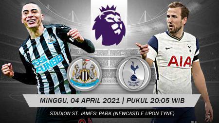 Berikut prediksi pertandingan Liga Inggris 2020/21 pekan ke-30 akan menampilkan laga menarik antara Newcastle United vs Tottenham Hotspur. - INDOSPORT