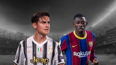Barcelona dan Juventus Barter Dybala-Dembele, Siapa Diuntungkan? - INDOSPORT