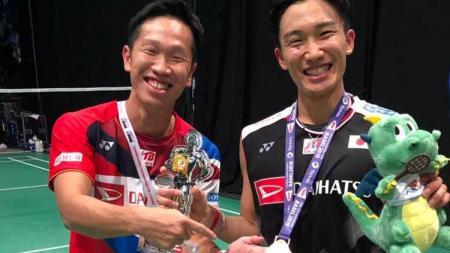 Media asing asal Malaysia soroti lima penantang Kento Momota yang disebut oleh pelatih Jepang, Yosuke Nakanishi, di Olimpiade Tokyo 2020, ada Anthony Ginting? - INDOSPORT