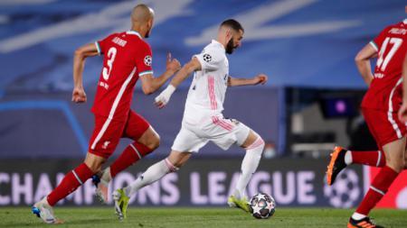 Real Madrid berhasil mengubur mimpi dan harapan Liverpool lewat kemenangan 3-1 dalam laga leg pertama babak perempatfinal Liga Champions 2020/21. - INDOSPORT