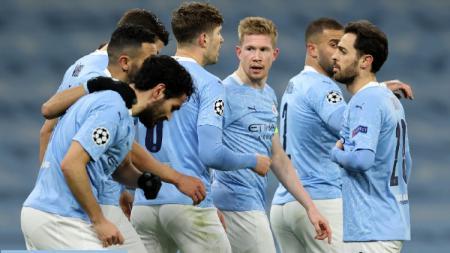 Link Live Streaming Liga Inggris: Crystal Palace vs Manchester City, Kunci Gelar Juara. - INDOSPORT