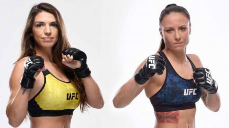 Mackenzie Dern vs Nina Ansaroff, dijuluki sebagai 'Battle of Mom' di UFC Vegas 23. - INDOSPORT