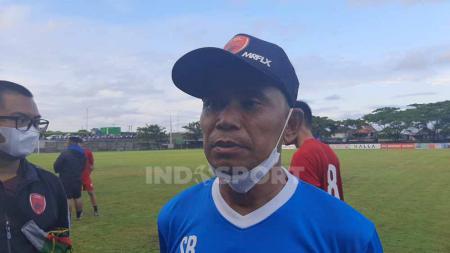 Pelatih klub Liga 1 PSM Makassar, Syamsuddin Batola. - INDOSPORT