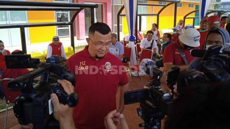 Direktur PT SOM Hendri Zainuddin melayangkan surat ke PSSI. - INDOSPORT