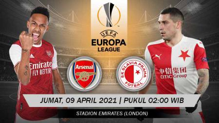 Link Live Streaming Pertandingan Perempat Final Liga Europa: Arsenal vs Slavia Praha. - INDOSPORT