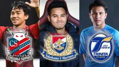 Indosport - Para Pemain Thailand di Liga Jepang