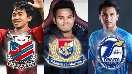 Para Pemain Thailand di Liga Jepang - INDOSPORT