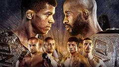 Indosport - Dua legenda UFC, Eddie Alvarez dan Demetrious Johnson harus tumbang di ajang ONE Championship bertajuk ONE on TNT 1.